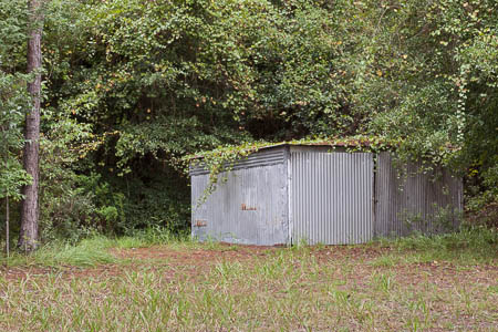Garage behind Uncle Go's house
